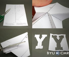 """One Cut """"Y"""""""