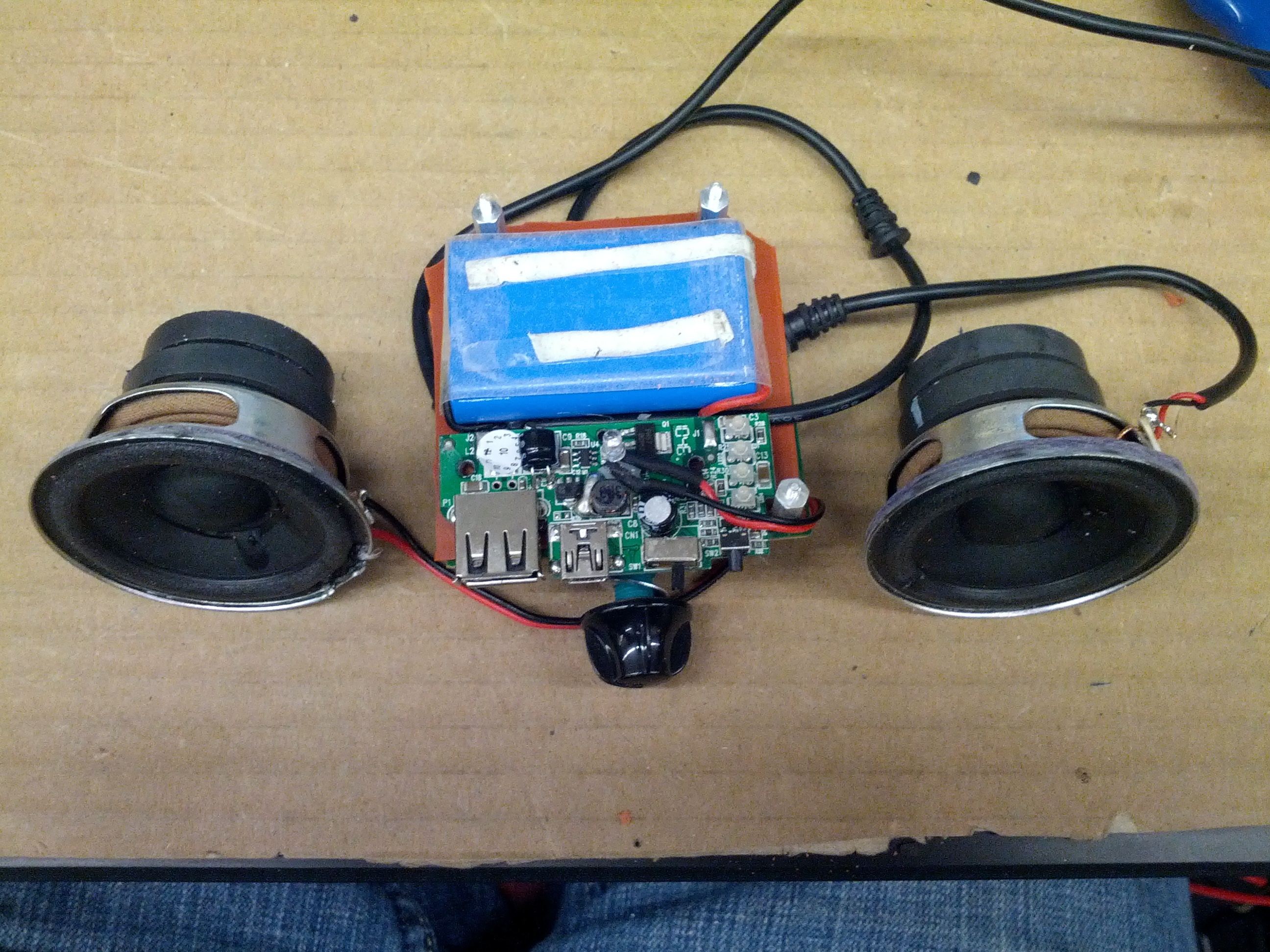 Picture of Measure Components and Assemble Electronics