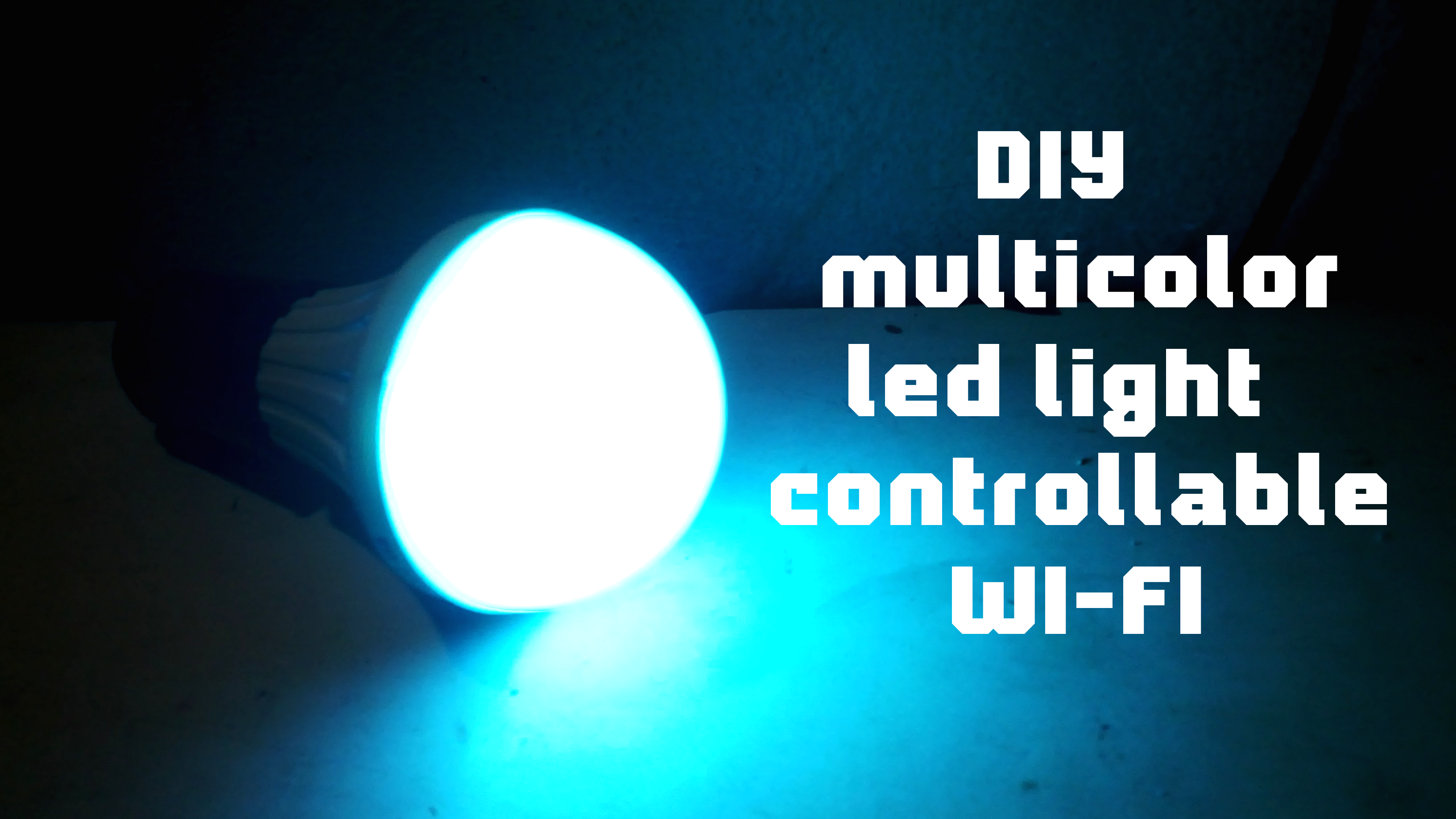 Picture of DIY Multicolor Led Light Controllable Wi-fi