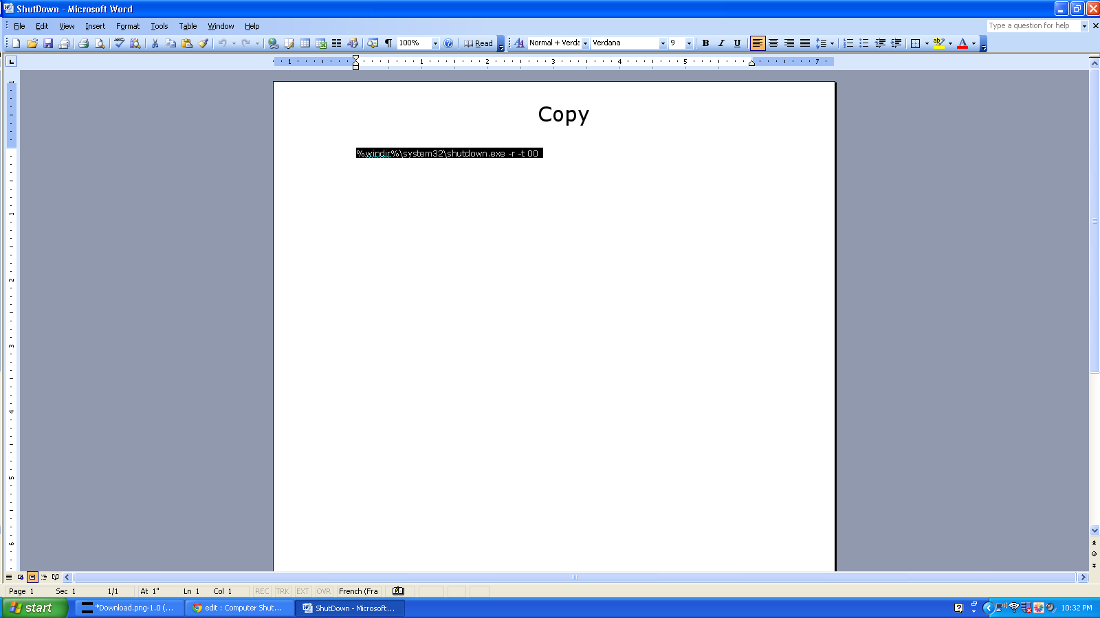 Picture of Download the Word File