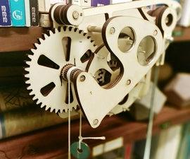 Galileo Wooden Escapement Mechanism