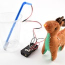 Rudolf the Red-Nosed Christmas Tree Water Level Indicator