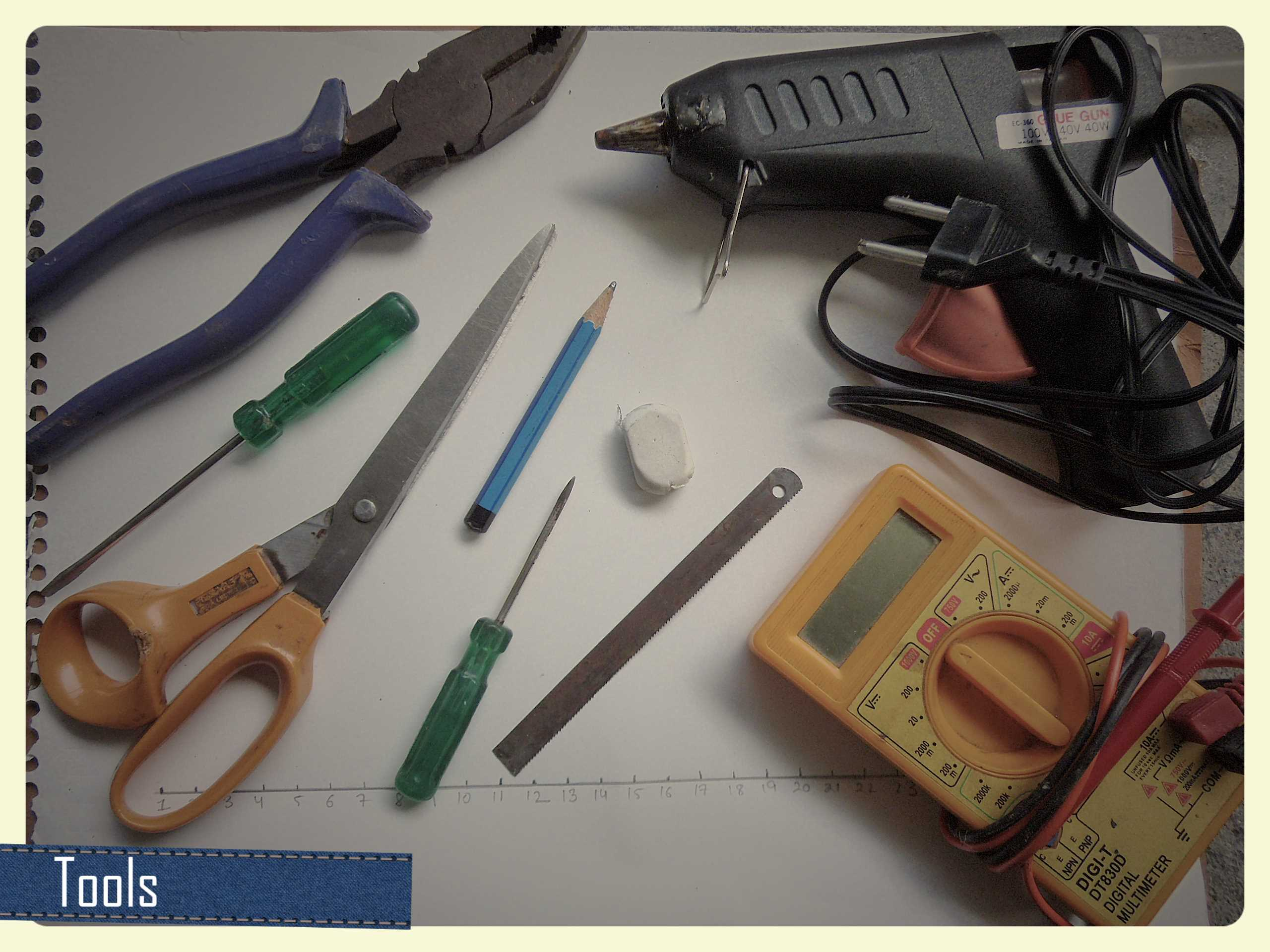 Picture of Tools You Need