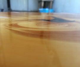 Glass Like Finish on Wood