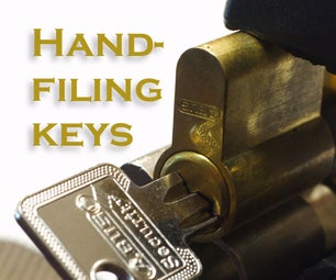 From Blank Keys to Working Keys Without Dismanteling the Lock (using a Handfile)