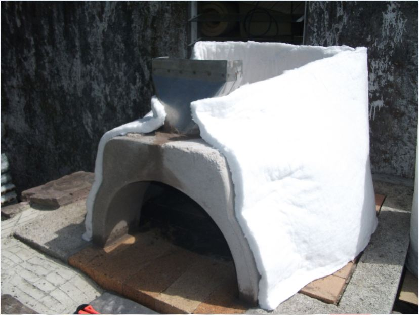 Picture of Crematic Blanket Insulation.