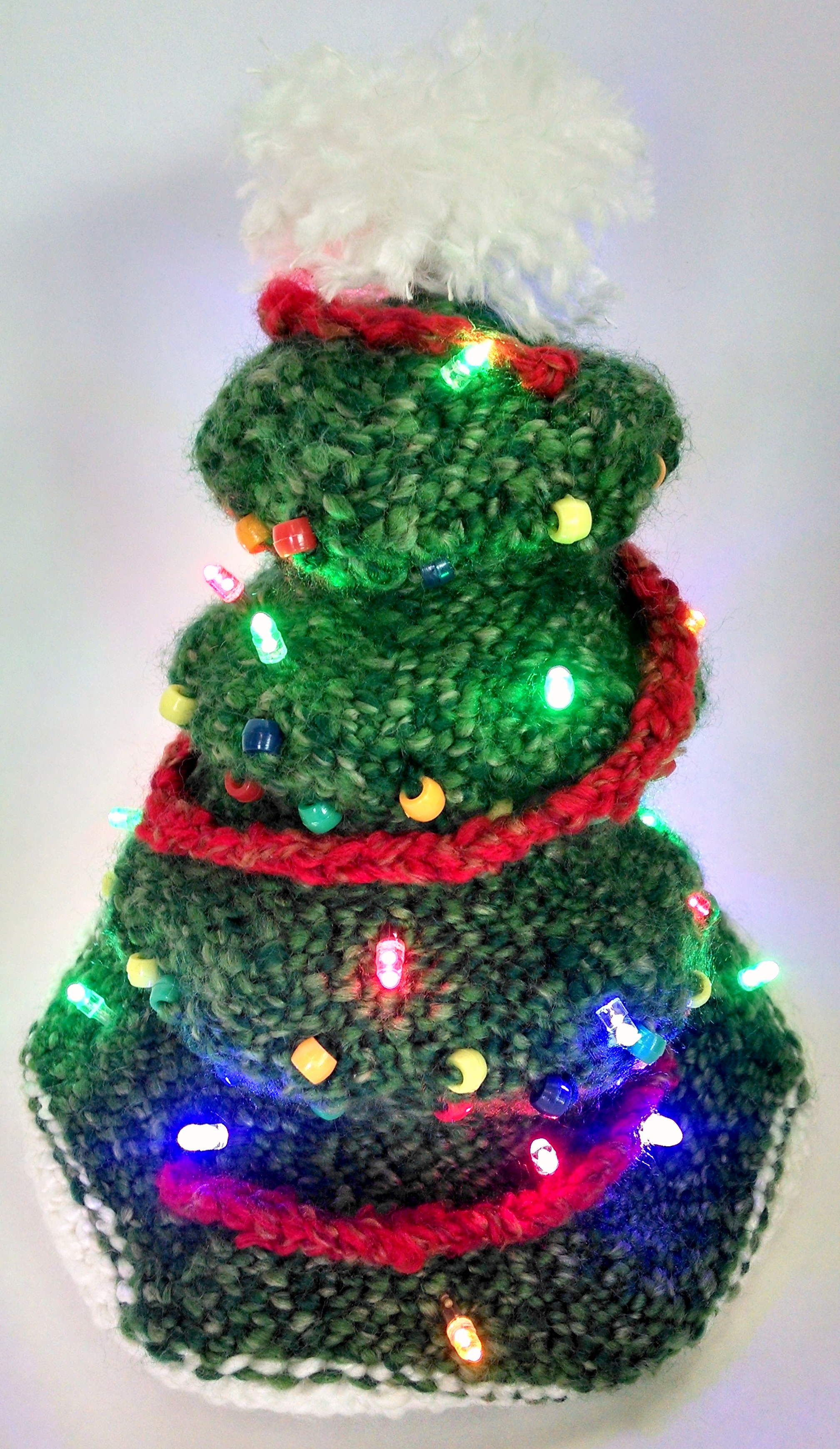 Picture of Enjoy Your Light-Up Christmas Tree Hat!
