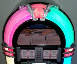 'Time Machine' Mini Jukebox