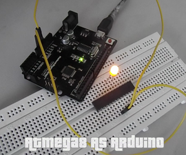 ATmega8 As Arduino (using Internal 8Mhz Crystal)