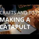 CATAPULT - stone hurling toy