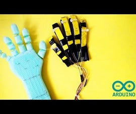 Arduino - Make a Robotic Hand (Low Cost)