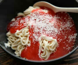 Spaghettieis - Ice Cream Spaghetti