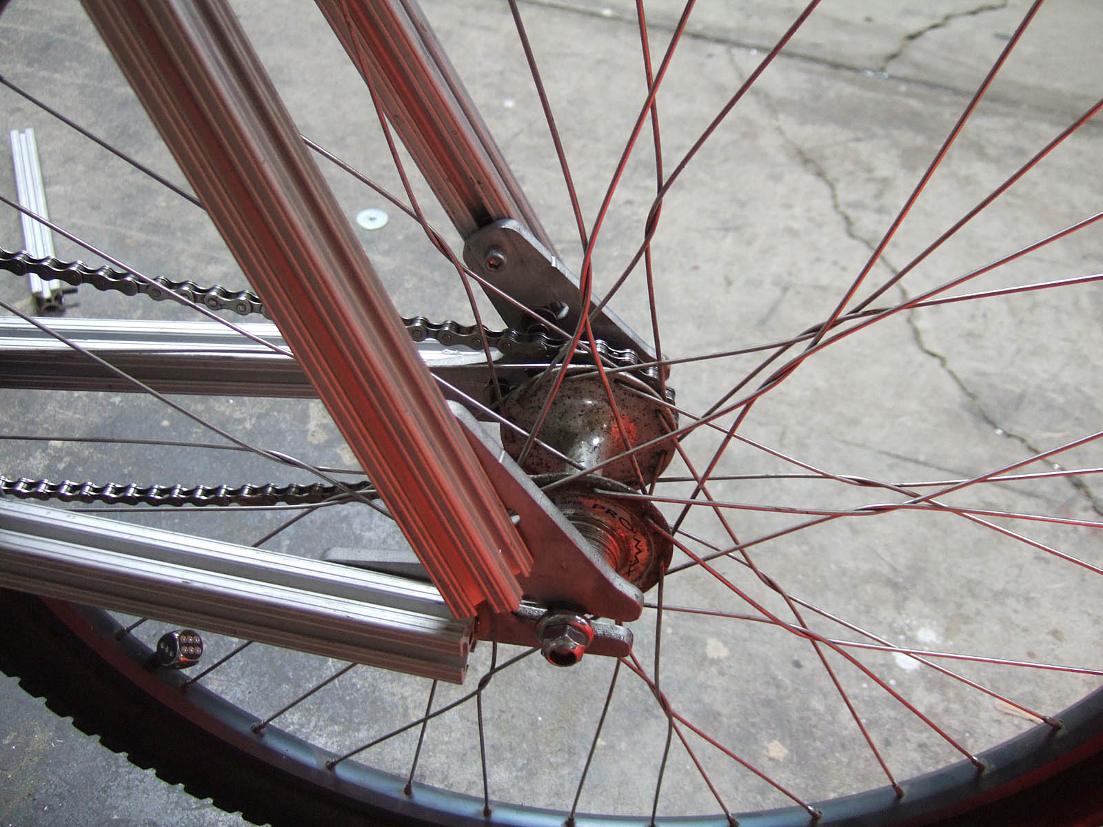 Picture of Mount the Rear Wheel