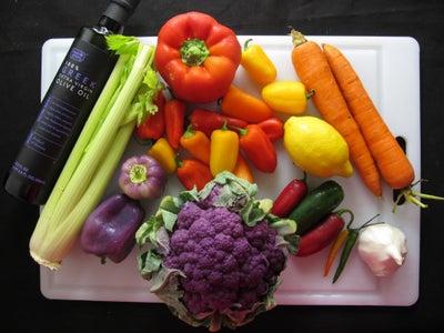 Ingredients: Oil & Veggie Part