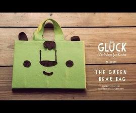 Make a Green Bear Bag