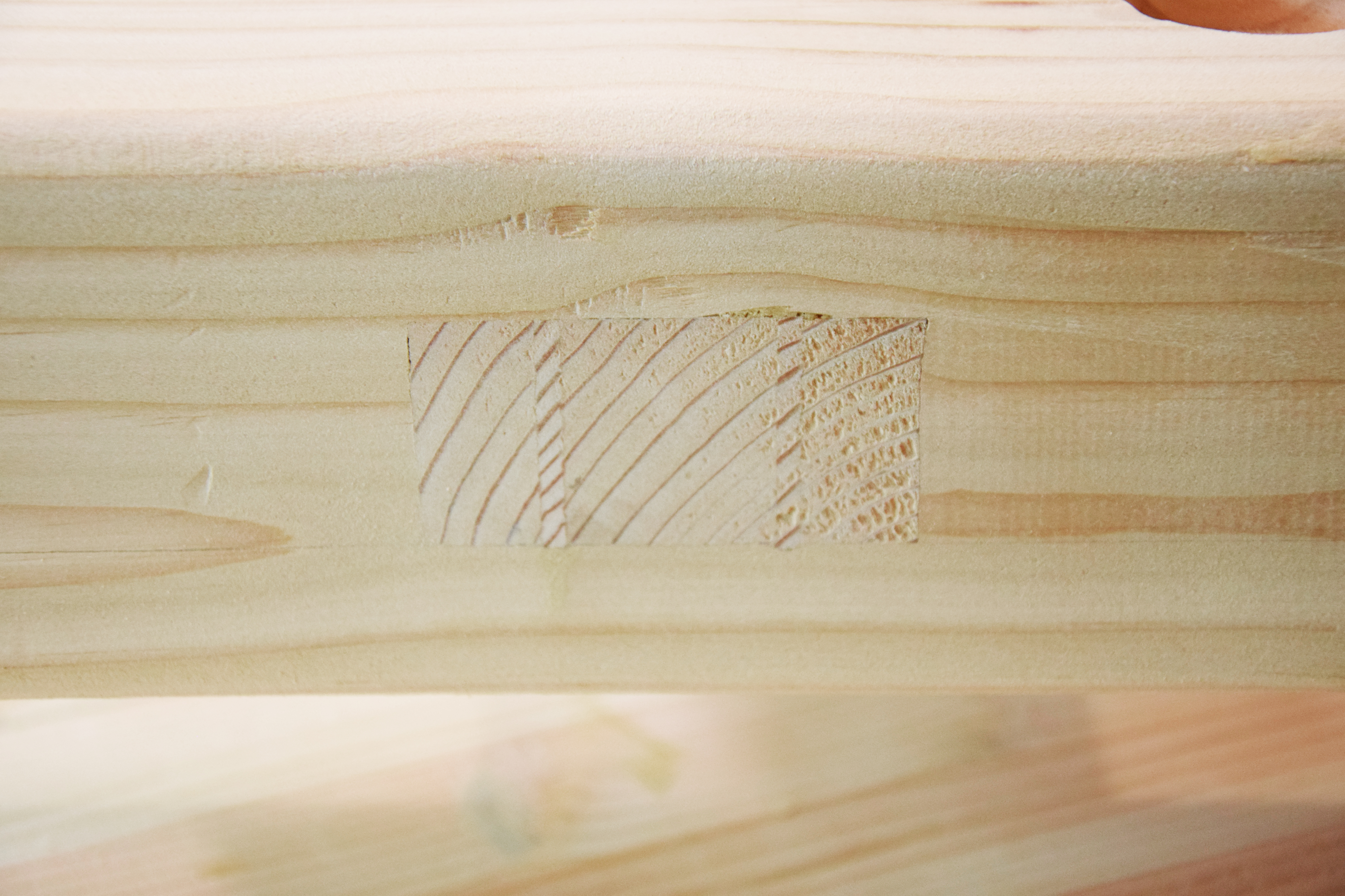 Picture of Remove Excess Wedges and Tenon