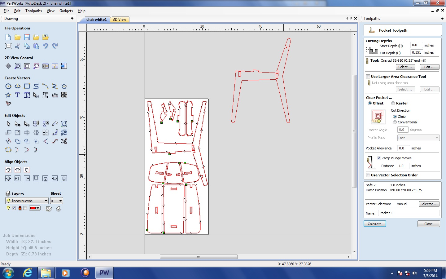 Picture of PartWorks: Creating Toolpaths