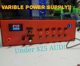 Variable Lab Bench Power Supply!