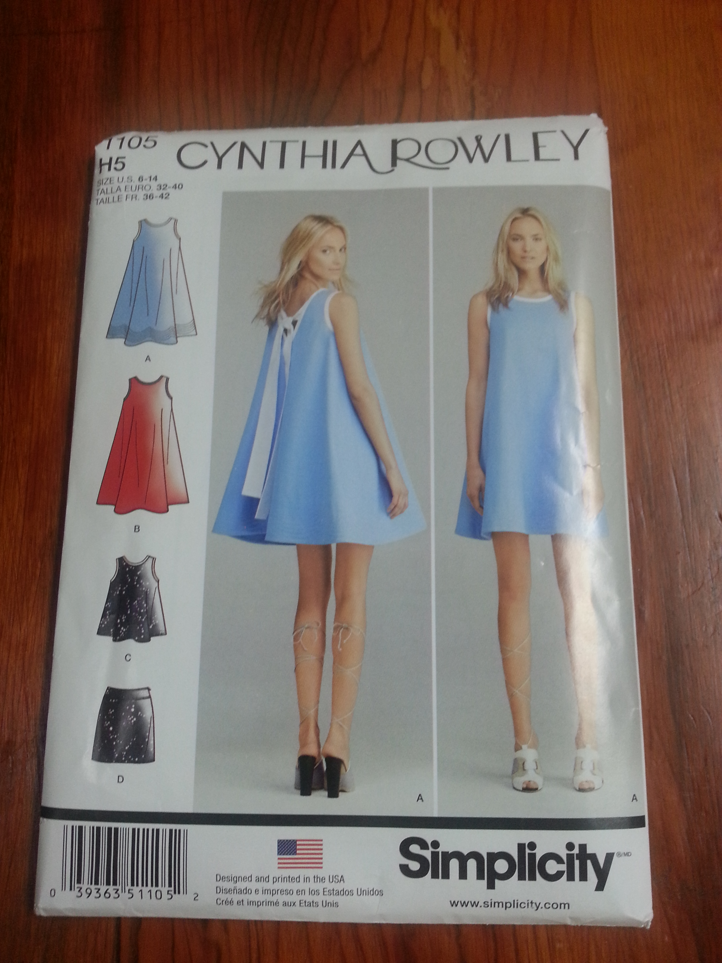 Picture of Making a Dress Using a Commercial Pattern or Learning the Language of Sewing