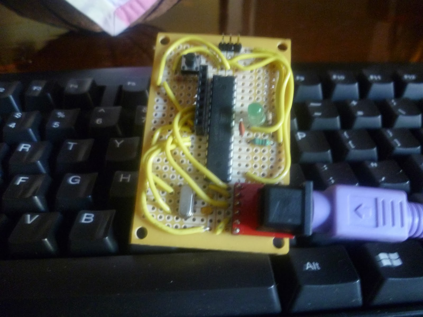 Picture of The Arduino PS/2 Keyboard Smart Interface