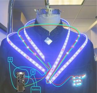 Design Process & Circuit Diagram