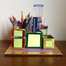 Easy Desk Organizer for Art and Craft