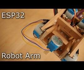 ESP32 Micro Robot Arm
