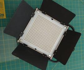 World's Easiest Softbox for LED Light Panels