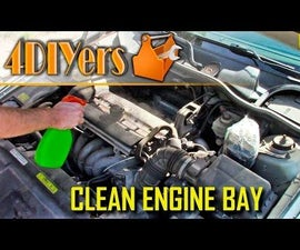 How to Wash an Engine Bay