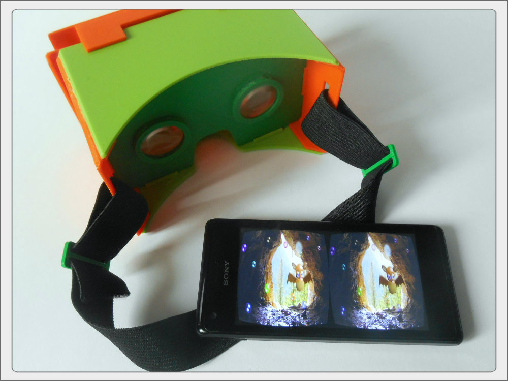 Picture of 3D Printed Google Cardboard Kit