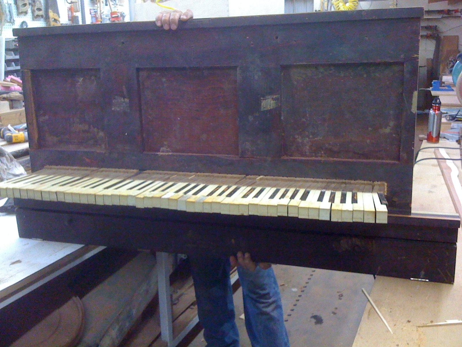 Picture of Antique Piano Shelf