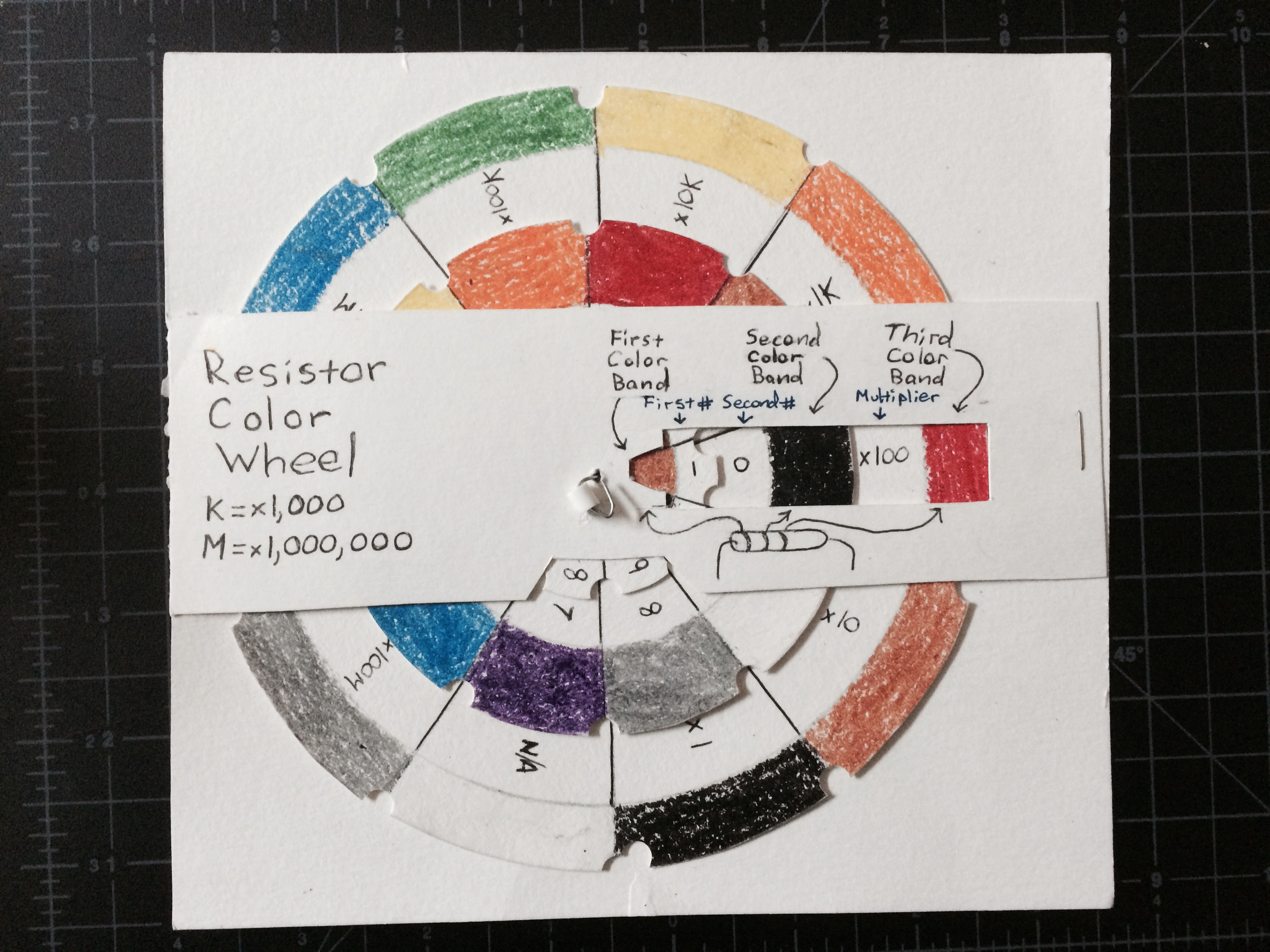 Picture of Resistor Color Wheel Tool