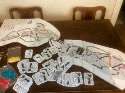 Ticket to Ride New Zealand Boardgame