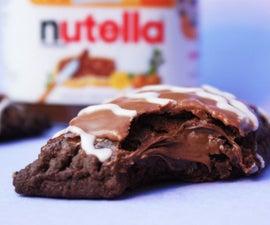 Homemade Nutella Stuffed Pop Tarts