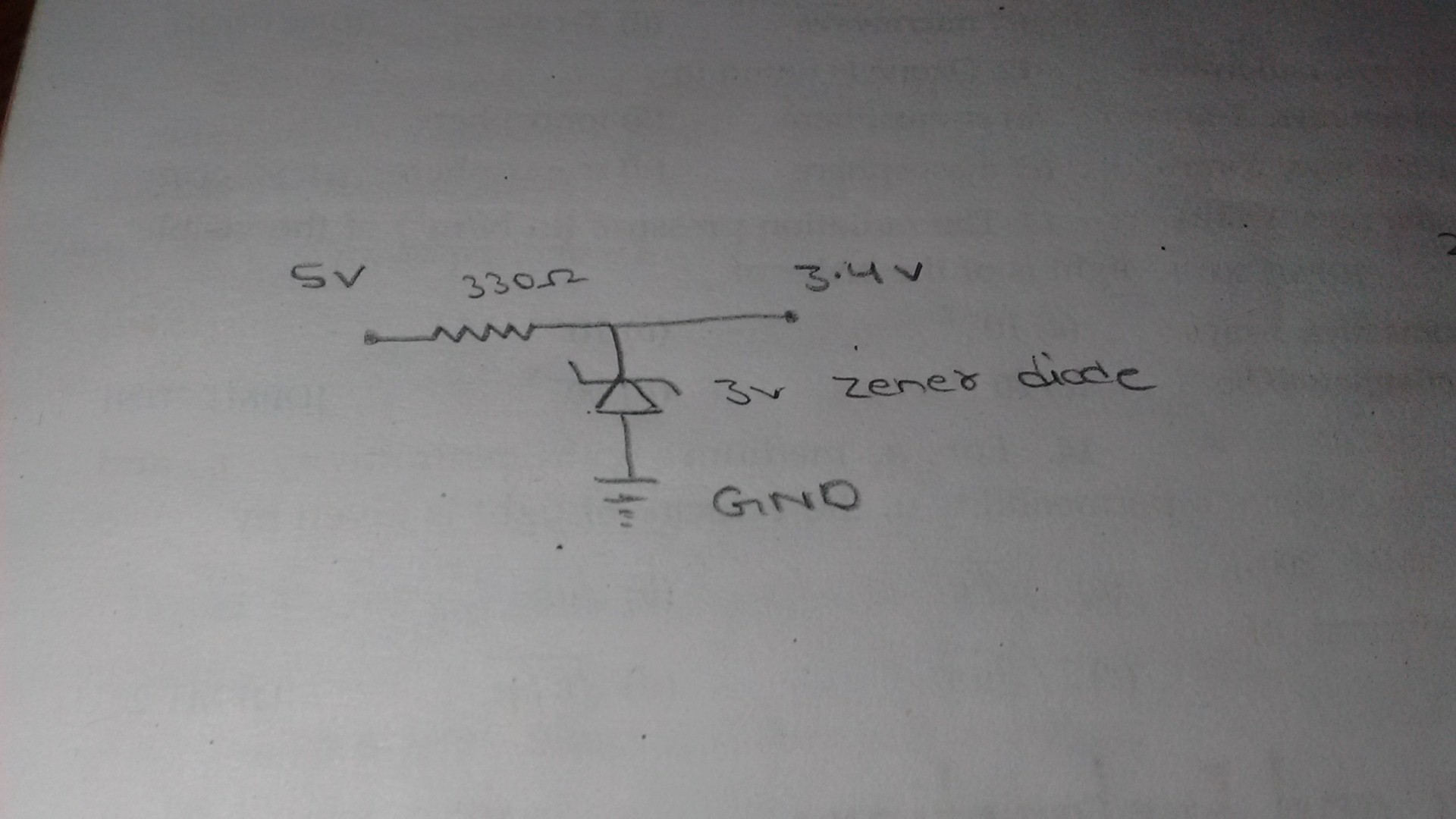 Picture of Converting 5v Power Source to 3.3v