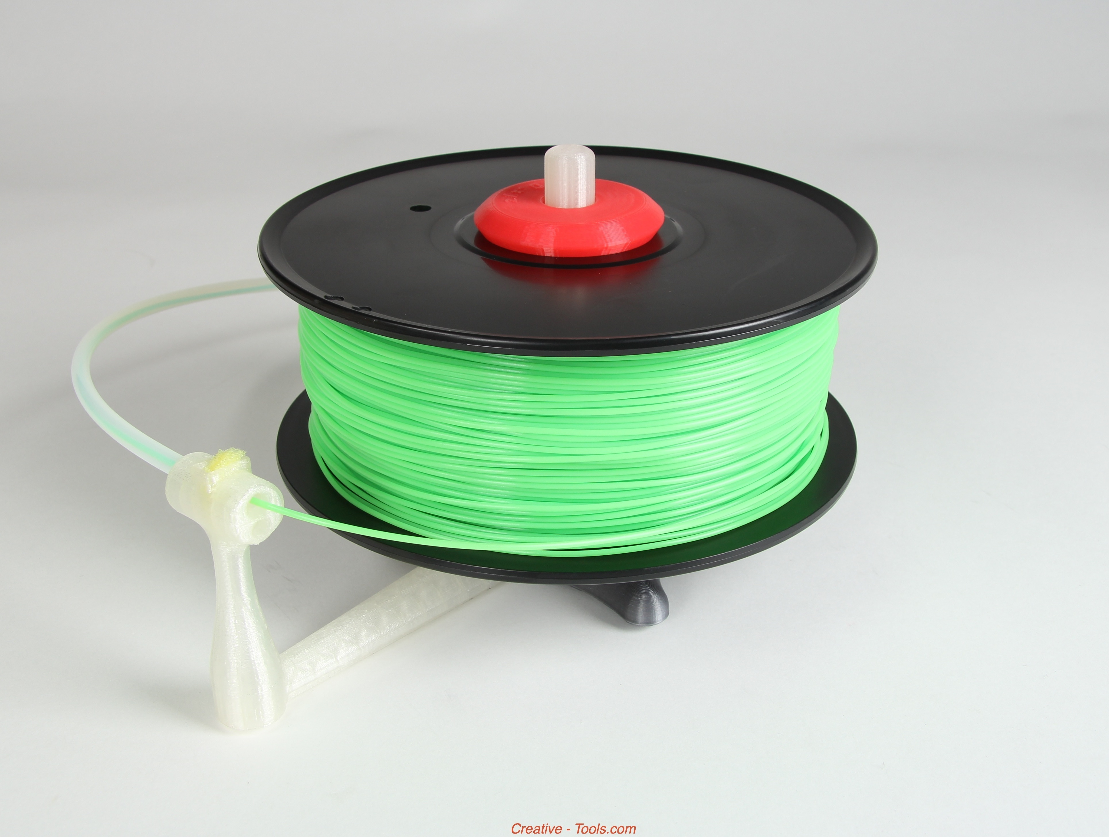 Picture of Universal Stand-alone Filament Spool Holder (Fully 3D-printable)