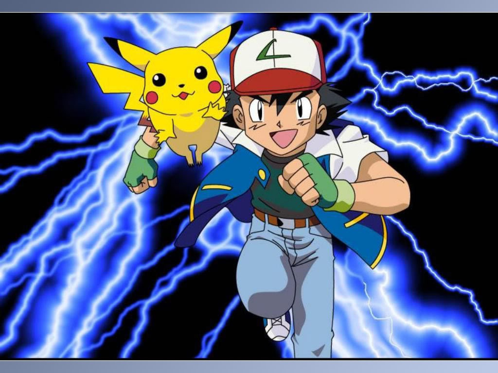 Picture of Ash and Pikachu Costumes (Pokemon)