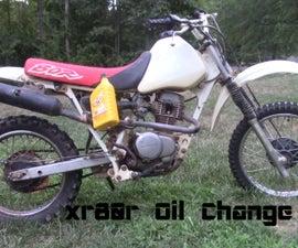 XR80 Oil Change