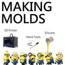 3D Printed Molds Casting Tutorial: Complex Shapes