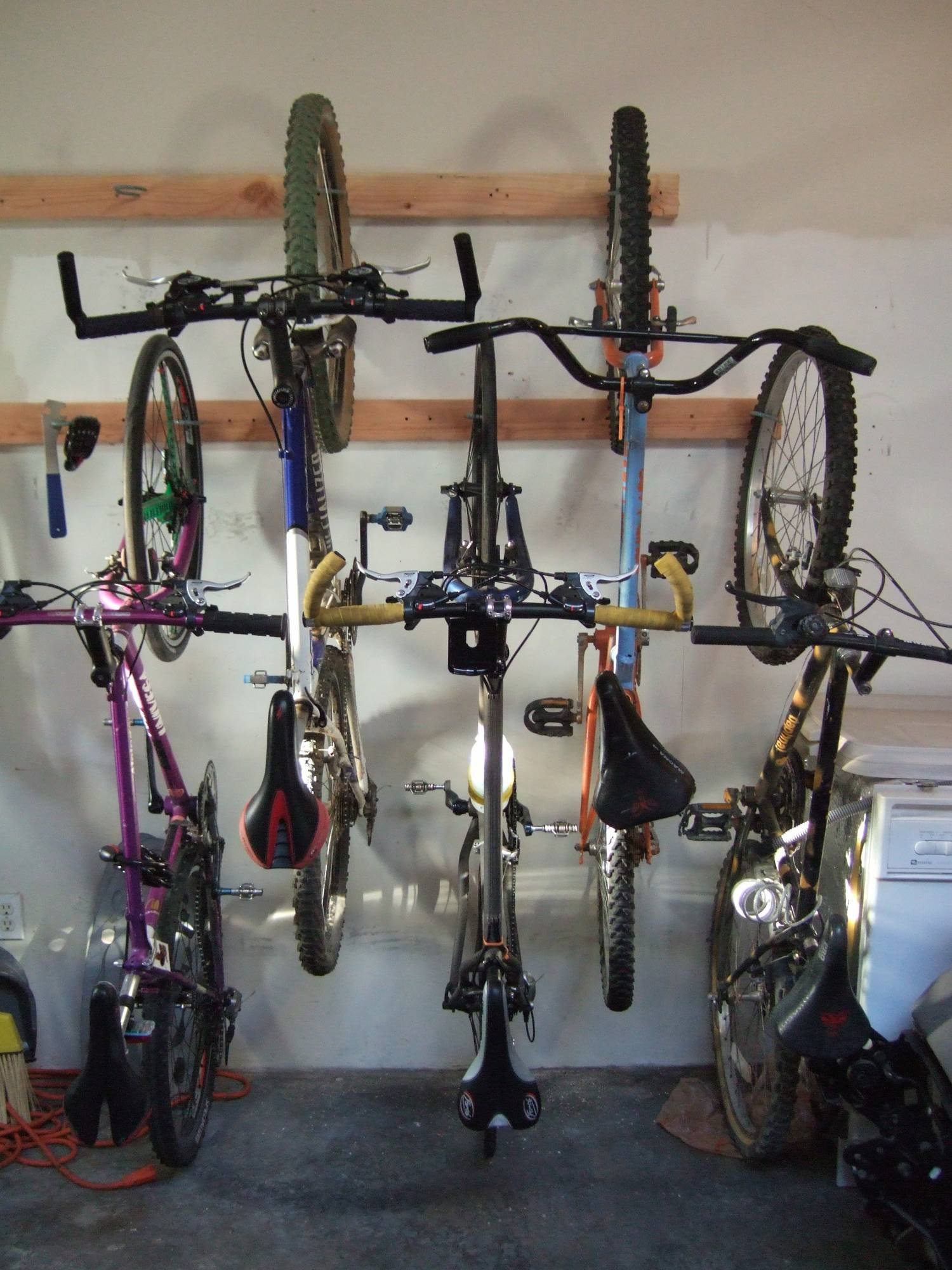 Picture of Bike Rack / Bike Storage for the Home or Apartment ... & Bike Rack / Bike Storage for the Home or Apartment: 8 Steps (with ...