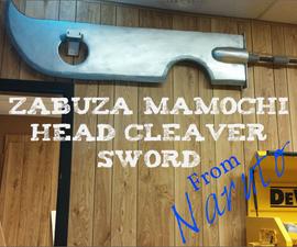 Zabuza Head Cleaver Sword From Naruto