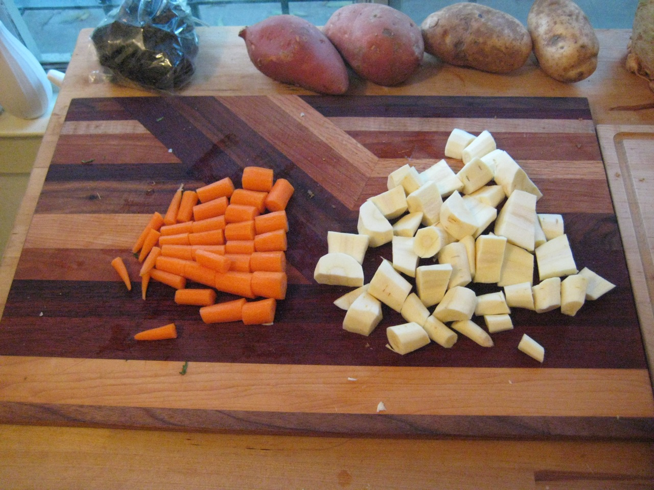 Picture of Add Carrots, Parsnips and Celery Root and Continue Cooking