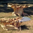 How I Make a Coffee Table From Tree Roots