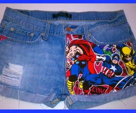 Re-Vamp your Shorts (Marvel Version)