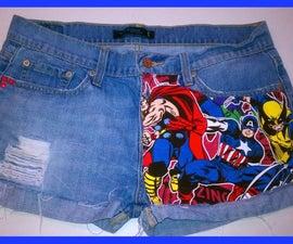 Re-Vamp your Shorts (Marvel Version)