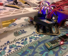 Bluetooth Controlled Quadcopter Using MultiWii