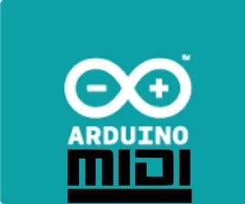 Arduino Midi Class - hardware, codes and shortcuts explored