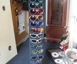 Sunglasses rack