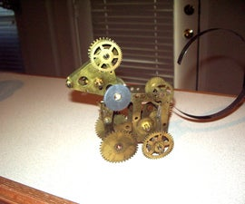 Big Horn Sheep From Clock Parts