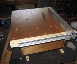 My Homemade Plywood Table Saw